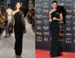 Fashion Blogger Catherine Kallon features Juana Acosta In Dolce & Gabbana - 2019 Goya Awards