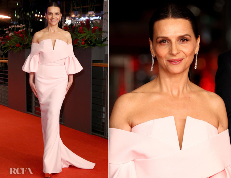 Juliette Binoche In Balmain Haute Couture - 2019 Berlinale International Film Festival Closing Ceremony