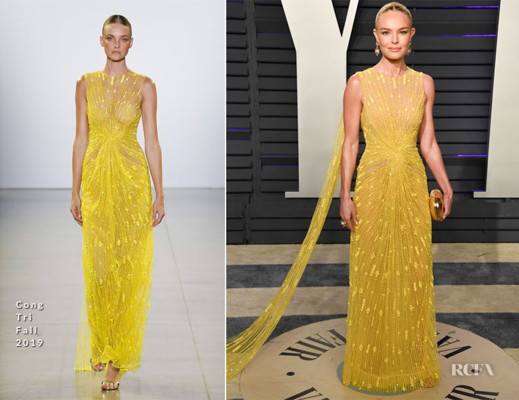 Kate Bosworth In Cong Tri - 2019 Vanity Fair Oscar Party
