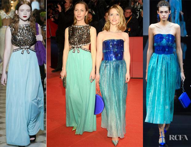 Fashion Blogger Catherine Kallon features Katharina Schuettler In Miu Miu & Karoline Schuch In Giorgio Armani - 'The Kindness Of Strangers' Berlinale Film Festival Premiere
