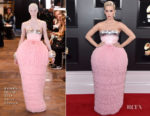 Fashion Blogger Catherine Kallon features Katy Perry In Balmain Haute Couture - 2019 Grammy Awards