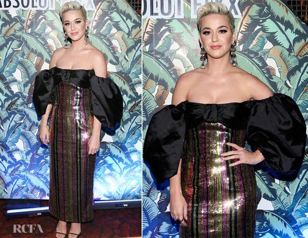 Fashion Blogger Catherine Kallon features Katy Perry In Rasario - Mark Ronson's 'Club Heartbreak' Grammy Party
