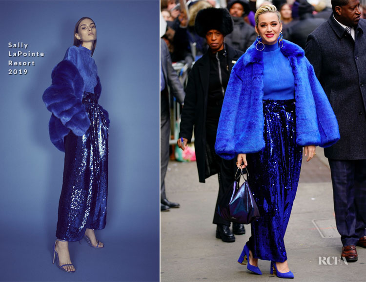 Katy Perry In Sally LaPointe - Good Morning America