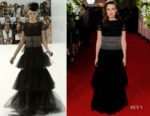 Fashion Blogger Catherine Kallon features Keira Knightley In Chanel Haute Couture - 'The Aftermath' World Premiere