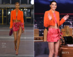Fashion Blogger Catherine Kallon features Kendall Jenner In Area - The Tonight Show Starring Jimmy Fallon