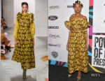 Fashion Blogger Catherine Kallon features KiKi Layne In Ulla Johnson - 2019 Essence Black Women In Hollywood Awards