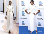 Fashion Blogger Catherine Kallon features Kiki Layne In Chloe - 2019 Film Independent Spirit Awards