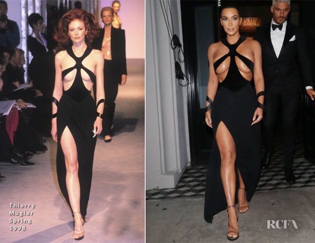 Fashion Blogger Catherine Kallon features Kim Kardashian In Thierry Mugler - 5th Annual Hollywood Beauty Awards