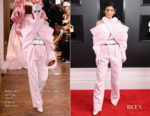 Fashion Blogger Catherine Kallon features Kylie Jenner In Balmain Haute Couture - 2019 Grammy Awards