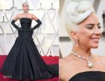 Lady Gaga In Alexander McQueen - 2019 Oscars