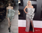 Fashion Blogger Catherine Kallon features Lady Gaga In Celine - 2019 Grammy Awards