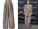 Lady Gaga's Marc Jacobs High-Rise Wide Leg Pants