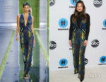 Fashion Blogger Catherine Kallon features Lake Bell In Cushnie - Disney ABC Television Hosts TCA Winter Press Tour 2019