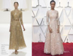 Letitia Wright In Christian Dior Haute Couture - 2019 Oscars