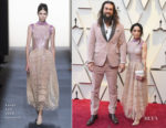Lisa Bonet In Fendi Couture & Jason Momoa In Fendi Mens - 2019 Oscars