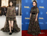 Fashion Blogger Catherine Kallon features Marina de Tavira In Giambattista Valli - 2019 Directors Guild Of America Awards