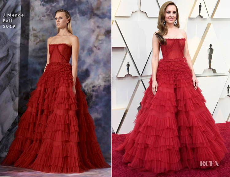 Fashion Blogger Catherine Kallon features Marina de Tavira In J. Mendel - 2019 Oscars