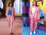 Fashion Blogger Catherine Kallon features Maya Rudolph In Rachel Comey - 'The Lego Movie 2: The Second Part' LA Premiere