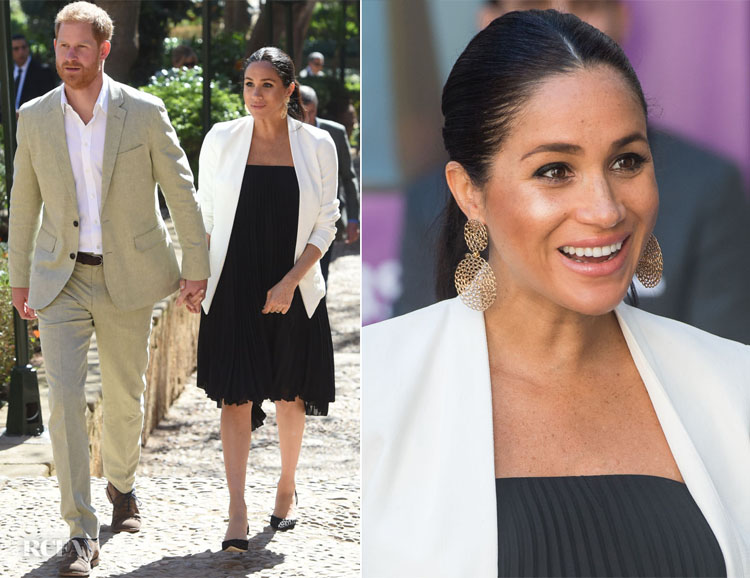 Meghan, Duchess of Sussex In Loyd/Ford & Aritzia - Andalusian Gardens