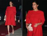 Fashion Blogger Catherine Kallon features Meghan, Duchess of Sussex In Valentino - Morocco Visit