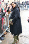 Fashion Blogger Catherine Kallon features Meghan Markle In William Vintage & Oscar de la Renta - Bristol Visit