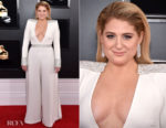 Fashion Blogger Catherine Kallon features Meghan Trainor In Christian Siriano - 2019 Grammy Awards