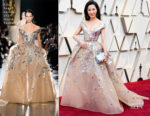 Fashion Blogger Catherine Kallon features Michelle Yeoh In Elie Saab Haute Couture - 2019 Oscars
