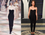 Natalie Portman In Christian Dior Haute Couture - 2019 Vanity Fair Oscar Party