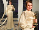 Olivia Colman In Stella McCartney - 2019 Vanity Fair Oscar Party