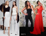 Fashion Blogger Catherine Kallon Features Priyanka Chopra In Cushnie - Madame Tussads Wax Figure Reveal