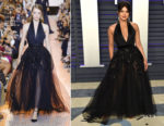 Priyanka Chopra In Elie Saab Haute Couture - 2019 Vanity Fair Oscar Party