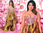 Fashion Blogger Catherine Kallon features Priyanka Chopra In Vivienne Westwood - 'Isn't it Romantic' LA Premiere