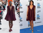 Fashion Blogger Catherine Kallon features Regina King In Valentino - 2019 Film Independent Spirit Awards