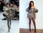 Rihanna In Alexandre Vauthier Haute Couture - Twitter