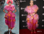 Fashion Blogger Catherine Kallon Features Rita Ora In Marc Jacobs Warner Music Group Pre-Grammy Celebration