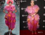 Fashion Blogger Catherine Kallon Features Rita Ora In Marc Jacobs Warner Music Group Pre-Grammy Celebration