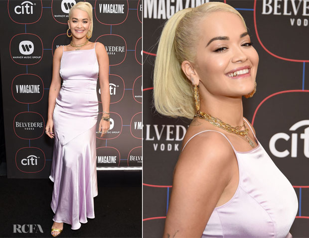 Fashion Blogger Catherine Kallon Features Rita Ora In Escada