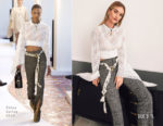 Fashion Blogger Catherine Kallon features Rosie Huntington Whiteley In Chloe - Summer Fridays Launch