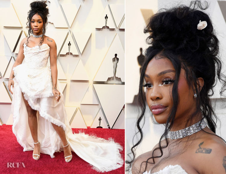 SZA In Vivienne Westwood Couture - 2019 Oscars