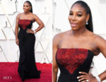 Serena Williams In Armani Prive - 2019 Oscars