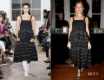 Fashion Blogger Catherine Kallon features Sienna Miller In Proenza Schouler - Ilene Joy Jewelry Collection Launch