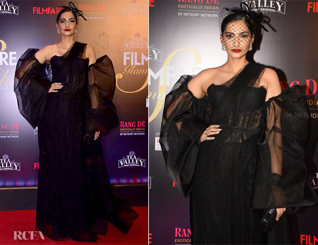 Fashion Blogger Catherine Kallon features Sonam Kapoor In Shehlaa By Shehla Khan - 2019 Filmfare Glamour and Style Awards