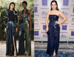 Fashion Blogger Catherine Kallon features Sophia Bush in Prabal Gurung - 2019 Excellence In Production Design Awards