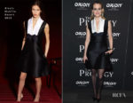 Fashion Blogger Catherine Kallon features Taylor Schilling In Alexis Mabille - 'The Prodigy' New York Screening