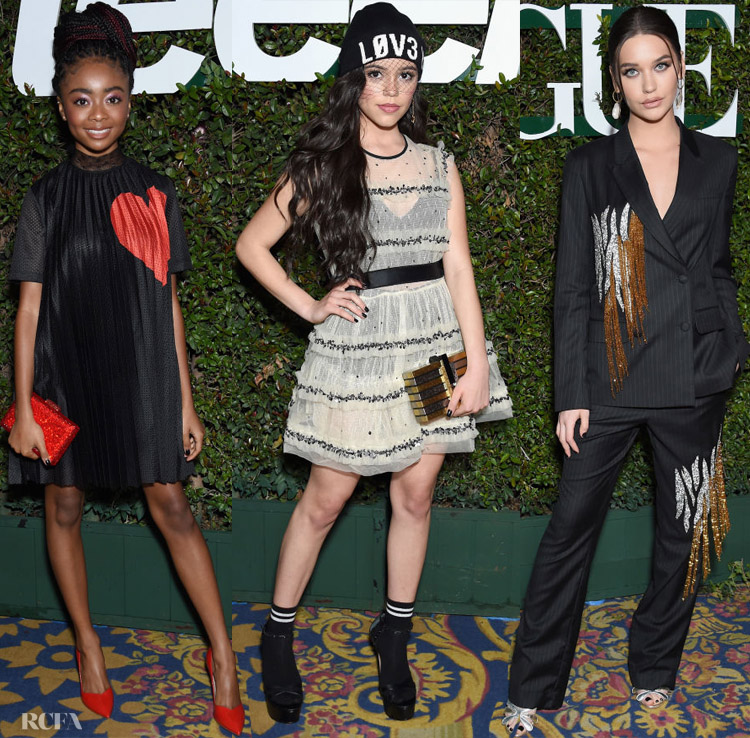 Fashion Blogger Catherine Kallon features Teen Vogue's 2019 Young Hollywood Party