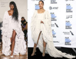 Fashion Blogger Tessa Thompson In Vaquera - 2019 Film Independent Spirit Awards