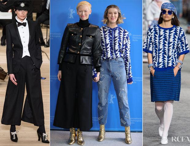 Fashion Blogger Catherine Kallon features Tilda Swinton & Honor Swinton-Byrne In Chanel - 'The Souvenir' Berlinale International Photocall