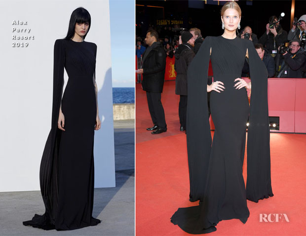 Fashion Blogger Catherine Kallon Features Toni Garrn In Alex Perry - 'The Kindness Of Strangers' Berlinale Film Festival Premiere