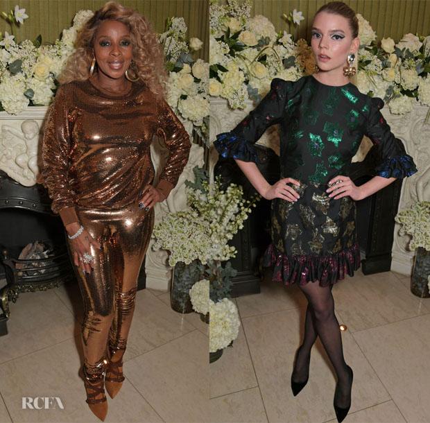 Fashion Blogger Catherine Kallon features VOGUE Fashion & Film BAFTA Party