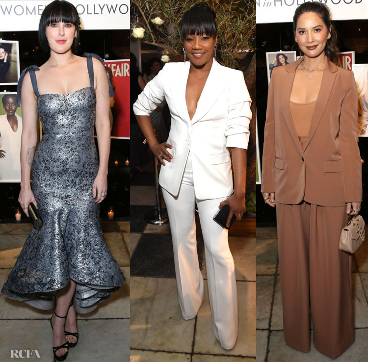Fashion Blogger Catherine Kallon features Vanity Fair And Lancôme Toast Women In Hollywood